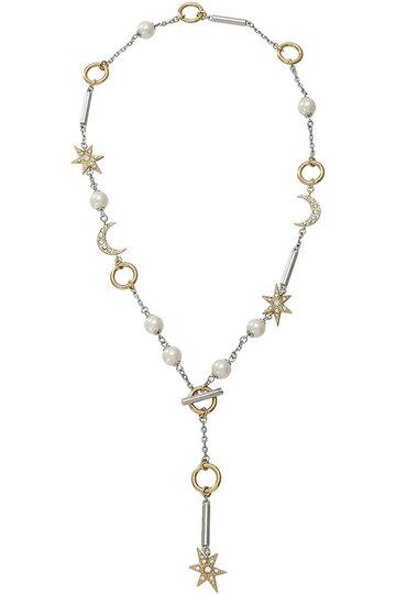 アデル ビジュー/ADER.bijouxのMOON & STAR マルチラリエット(ゴールド/RN-1113)