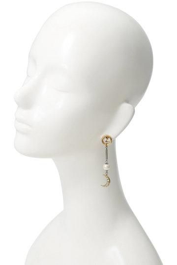 アデル ビジュー/ADER.bijouxのMOON & STAR マルチイヤリング(ゴールド/RE-1114 E)