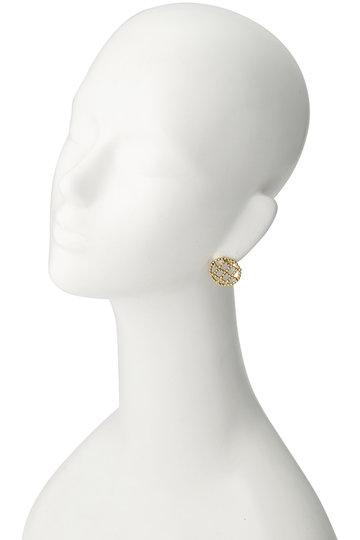 アデル ビジュー/ADER.bijouxのCUTSTEEL キルトタッセル2wayピアス(ゴールド/RE-1141P)
