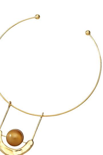 アデル ビジュー/ADER.bijouxのFRAGMENT ガラスタッセルチョーカー(ゴールド/RN-1143)