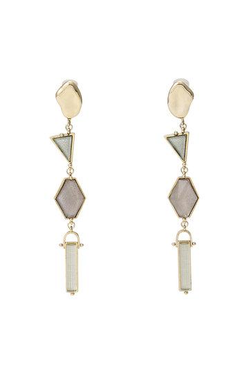 アデル ビジュー/ADER.bijouxのVITRAIL ロングイヤリング(ゴールド/RE-1151E)