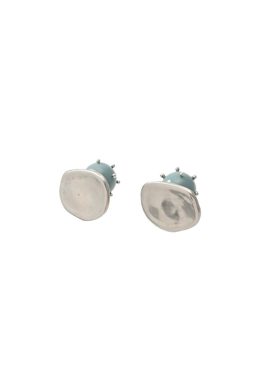 アデル ビジュー/ADER.bijouxのBALLON ダブルフェイスイヤリング(ブルー/RE-1166)