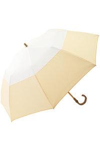 <ELLE SHOP> Athena New York アシーナ ニューヨーク Code Lane Summer 折りたたみ日傘 イエロー画像