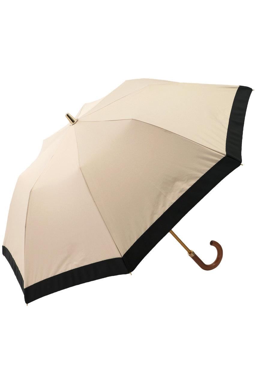 Athena New York アシーナ ニューヨーク Multi camila折りたたみ傘(晴雨兼用) ベージュ×ブラック