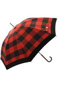 <ELLE SHOP> Athena New York アシーナ ニューヨーク Brooklyn バッファローチェック雨傘 レッド画像