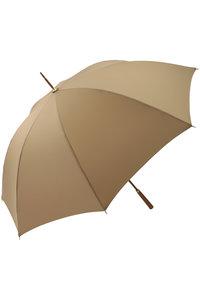 <ELLE SHOP> Athena New York アシーナ ニューヨーク Tribeca ソリッド雨傘 ベージュ画像
