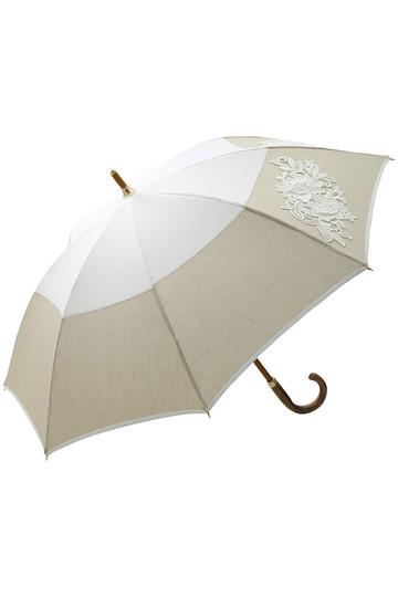 アシーナ ニューヨーク/Athena New Yorkのフラワーレース日傘(ホワイト×ベージュ/ANY-18P-01)