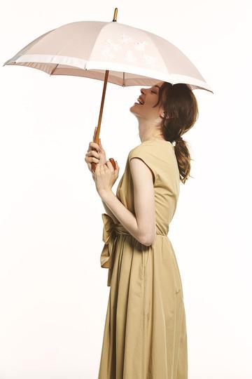 アシーナ ニューヨーク/Athena New Yorkのシーモチーフレース日傘(ベージュ/ANY-18P-02)