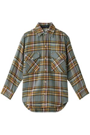 【予約販売】チェックシャツ マディソンブルー/MADISONBLUE