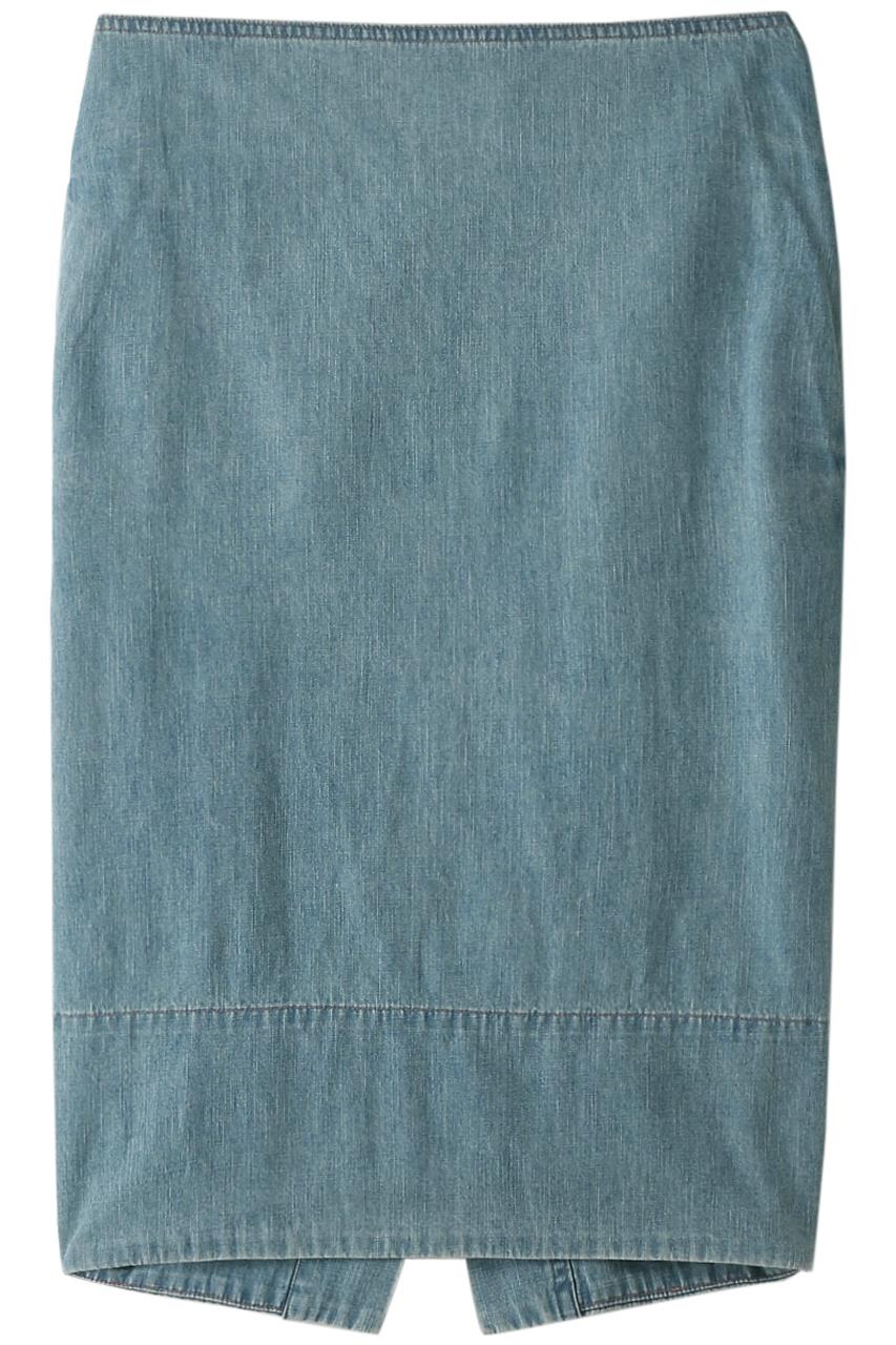 マディソンブルー/MADISONBLUEのソフィータイトロングデニムスカート(ブルー/MB191-6724)