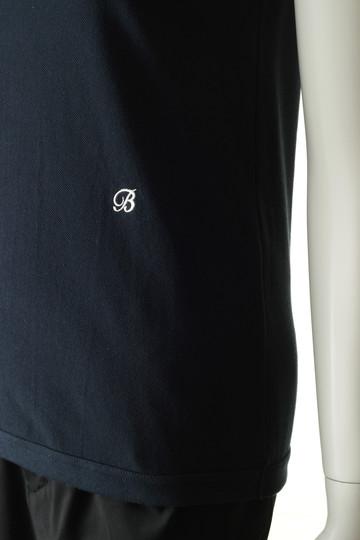 マディソンブルー/MADISONBLUEの鹿の子 ノースリーブTシャツ(ネイビー/MB191-7024)