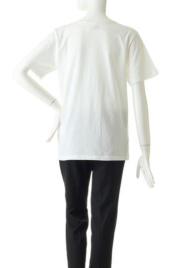 エムエム6 メゾン マルジェラ/MM6 Maison MargielaのプリントTシャツ/ブルーシャツ(ホワイト/S52GC0103)