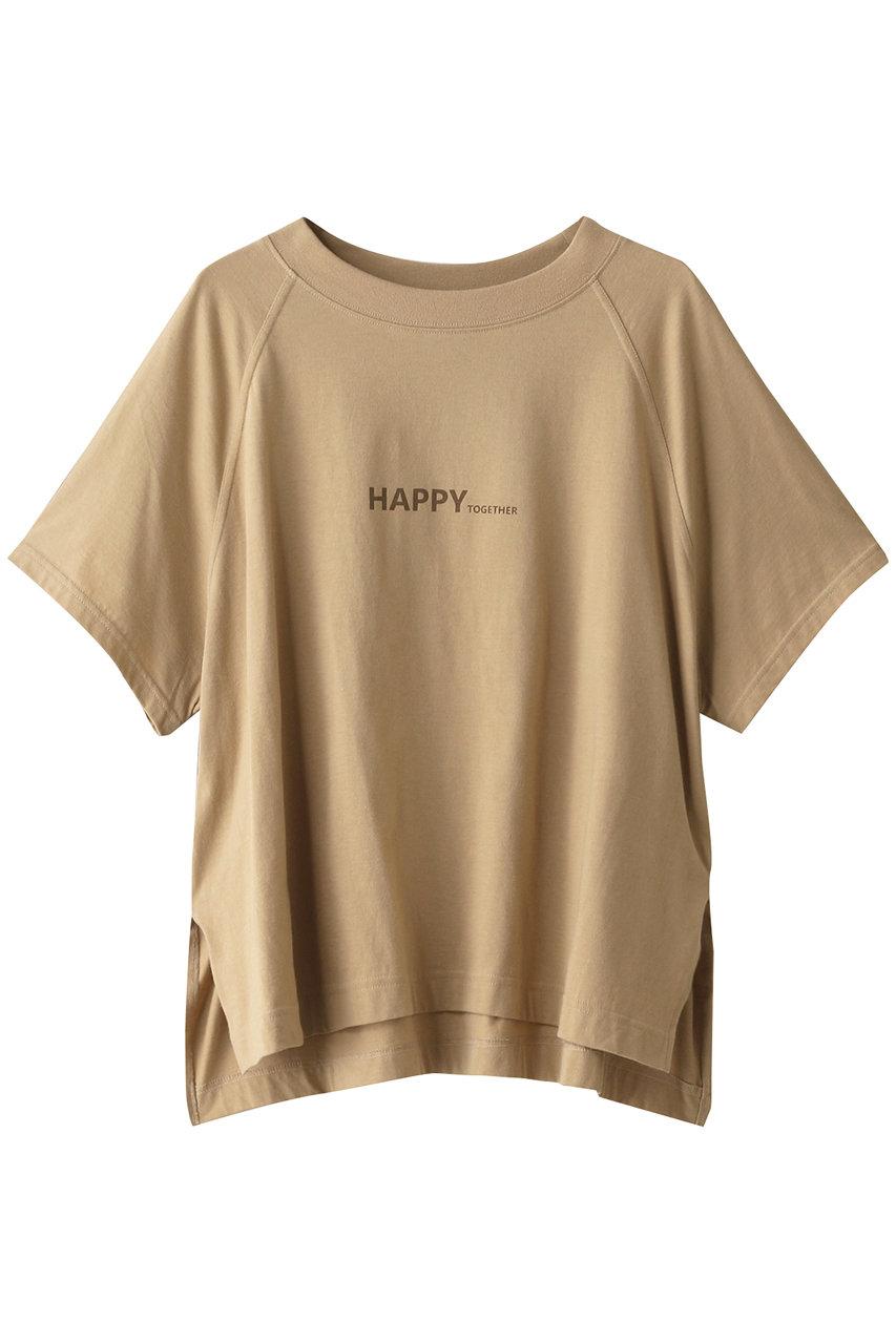 アッパーハイツ/upper hightsのTHE LOOSE RAGLAN Tシャツ(LIGHT SINNAMON/203TW05-SLG)