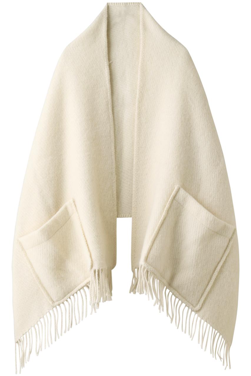 ラプアン カンクリ/LAPUAN KANKURITのUNI ポケットショール(ホワイト/LK200973)