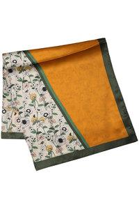 <ELLE SHOP> JET ジェット 【JET LOSANGELES】オリジナル花柄ストール オレンジ画像
