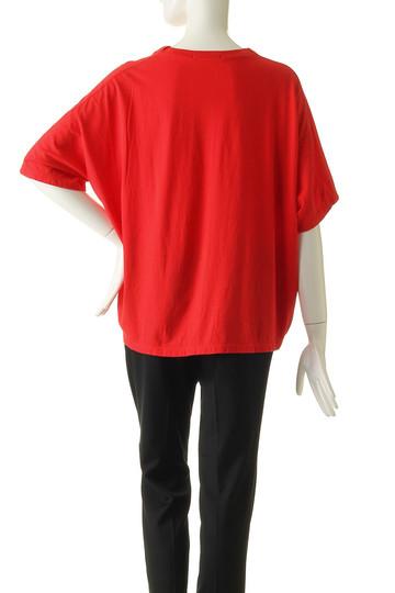 ジェット/JETの【JET NEWYORK】製品染め立体Tシャツ(レッド/G50-14555)