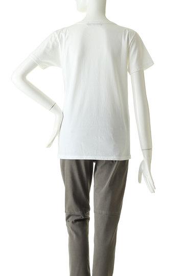 ジェット/JETの【JET LOS ANGELES】ガーメントダイ ポケットクルーネックTシャツ(ホワイト/C80-16067)