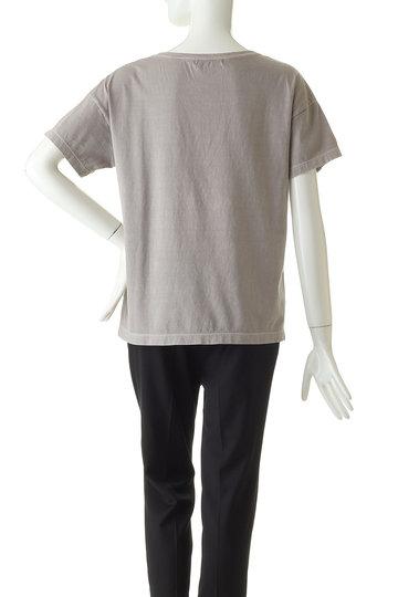 ジェット/JETの【JET LOS ANGELES】ボックスロゴプリントTシャツ(ベージュ/C80-16058)