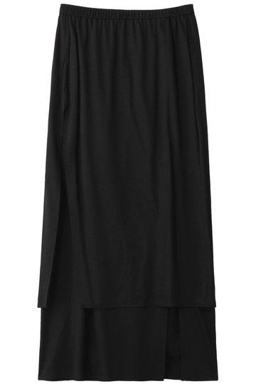 ジェット/JETの【JET NEW YORK】リヨセル天竺ロングスカート(ブラック/G50-76503)