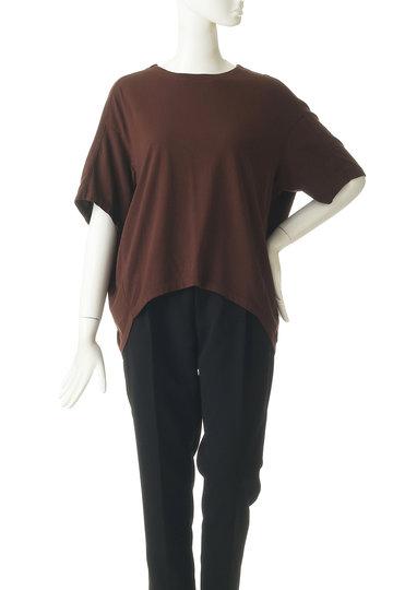 ジェット/JETの【JET NEWYORK】コットン天竺オーバーサイズTシャツ(オフホワイト/G50-16559)