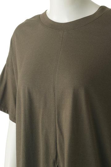 ジェット/JETの【JET NEWYORK】コットン天竺2WAYデザインTシャツ(カーキ/G50-16560)