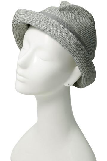 マチュアーハ/mature ha.の【MEN】BOXED HAT(7cm brim)(ライトグレーxグレー/MBOX-104MCST)