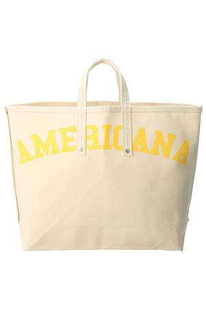 【TEMBEAコラボ】ロゴトートバッグ アメリカーナ/Americana