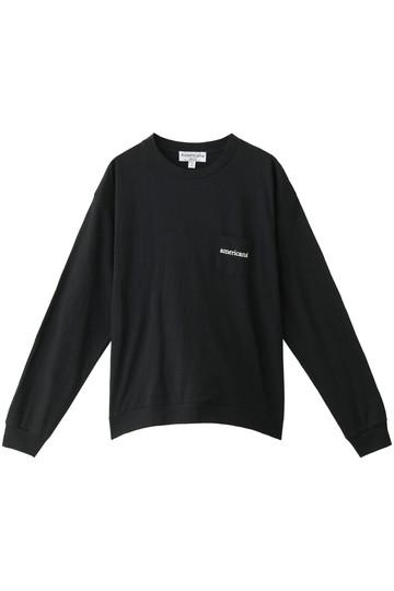 Americana アメリカーナ 裾リブビッグTシャツ BLK