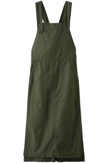 Americana アメリカーナ バックサテンサロベットスカート オリーブグリーン