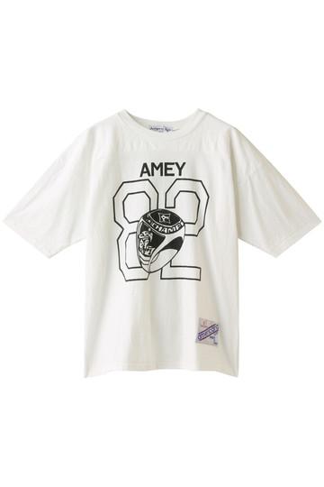 Americana アメリカーナ フットボールTシャツ オフホワイト