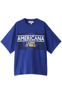 <ELLE SHOP>Americana Tシャツ ロイヤルブルー画像