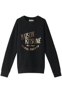 <ELLE SHOP> MAISON KITSUNE メゾン キツネ メンズ(MENS)SWEATSHIRT PALAIS ROYAL/スウェット ブラック画像