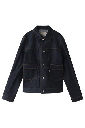 【MEN】Denim Western ジャケット メゾン キツネ/MAISON KITSUNE