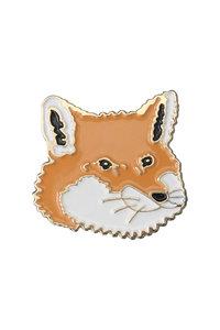 <ELLE SHOP>【UNISEX】FOX HEAD PINS マルチカラー画像
