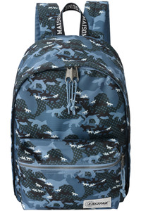 <ELLE SHOP>【UNISEX】【EASTPAK×MAISON KITSUNE】BACK TO WORK/OUT OF OFFICE /バックパック ブルーマルチ画像