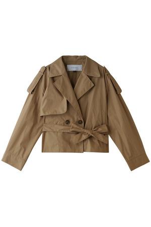 ショートトレンチジャケット ルシェルブルー/LE CIEL BLEU
