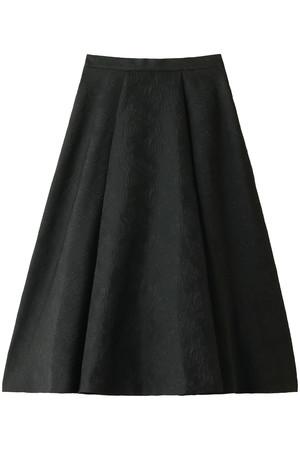 フラワージャカードサーキュラースカート ルシェルブルー/LE CIEL BLEU