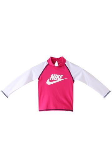 SALE 【50%OFF】 NIKE ナイキ 【kids】TODDLER ロングスリーブ UV ラッシュガード(スイムウェア/水着) ラッシュピンク