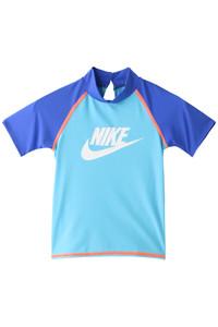 20%OFF!<ELLE SHOP>【kids】TODDLER ショートスリーブ UV ラッシュガード(スイムウェア/水着) ブルー画像