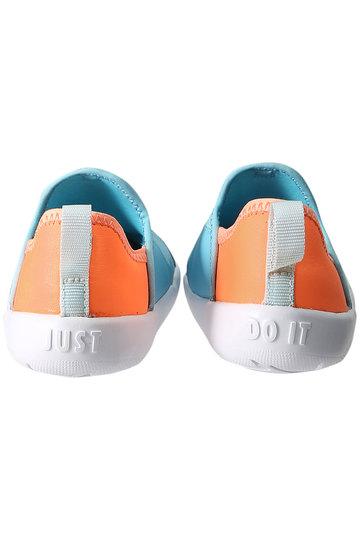ナイキ/NIKEの【Baby】リル スウッシュ TD(ブルー×オレンジ/AQ3114)