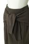 カシミアブレンドリラックスニットスカート(セットアップ対応) アダワス/ADAWAS