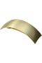 ブラッシュド メタル ボリューム バレッタ フランス ラックス/France Luxe ゴールド