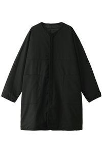 <ELLE SHOP> N.HOOLYWOOD N.ハリウッド メンズ(MENS)【COMPILE】ノーカラー比翼コート ブラック画像