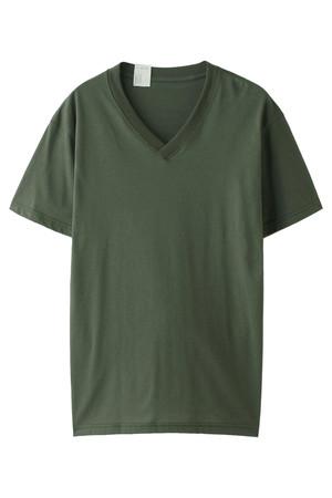 【UNISEX】【BARRACKS KIT】VネックTシャツ N.ハリウッド/N.HOOLYWOOD