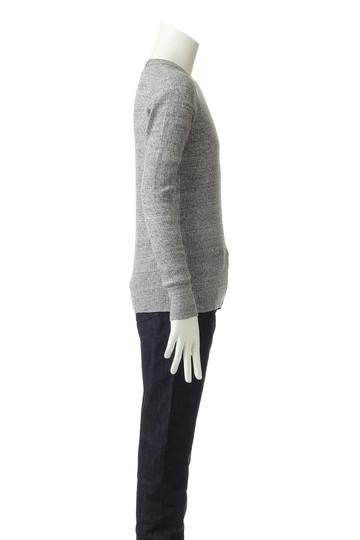 N.ハリウッド/N.HOOLYWOODの【UNISEX】【UNDER SUMMIT WEAR】5RCH クルーネックロングスリーブTシャツ(トップグレー/5RCH CREW NECK LONG SLEE)