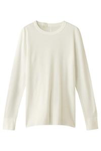 <ELLE SHOP>【UNISEX】【UNDER SUMMIT WEAR】5RCH クルーネックロングスリーブTシャツ ホワイト画像