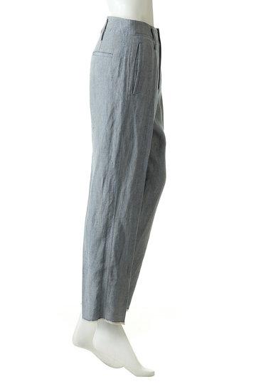 フォルテ フォルテ/forte_forteのリネンパンツ(デニムブルー/873-71503)