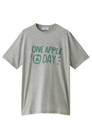 【UNISEX】ONE APPLE A DAY Tシャツ アミ アレクサンドルマテュッシ/AMI alexandre mattiussi