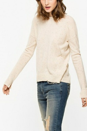 CICI PATCH C PULL PATCH ETOILE ニット ザディグ エ ヴォルテール/ZADIG & VOLTAIRE