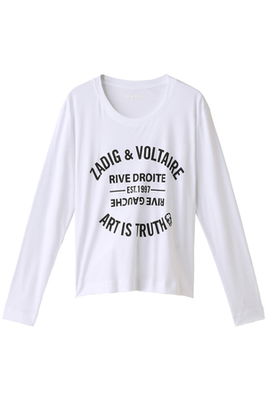 WILLY BIS BLASON TEE Tシャツ ザディグ エ ヴォルテール/ZADIG & VOLTAIRE